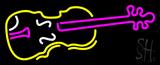 Violin Logo Neon Sign