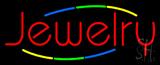 MultiColored Deco Style Jewlery Neon Sign