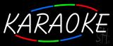Multicolored Deco Style Karaoke Neon Sign