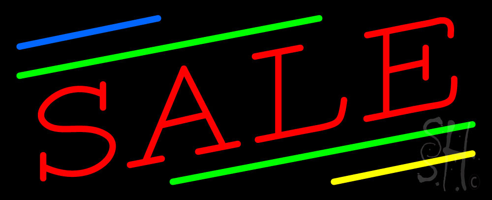 """The Sign Store Sale Clear Backing Neon Sign 13"""" Tall x 32"""" Wide at Sears.com"""