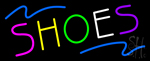 Multicolored Shoes Neon Sign