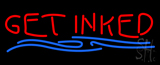 Red Get Inked Neon Sign