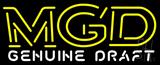 Beer MGD Neon Sign