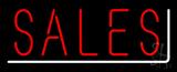 Sales Neon Sign