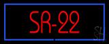 Sr - 22 Neon Sign