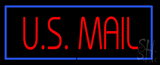 US Mail Neon Sign