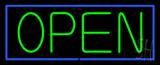 Open BG Neon Sign