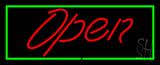 Script Open GR Neon Sign