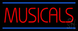 Musicals Neon Sign