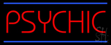 Psychic Blue Lines Neon Sign