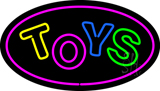 Toys Oval Purple Neon Sign