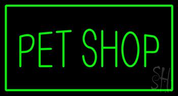 Pet shop sign