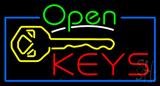 Open Keys Neon Sign