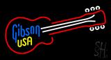 Gibson Guitar Art Historic Neon Sign