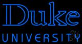 Duke University Neon Sign