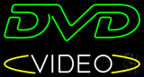 DVD Video Neon Sign