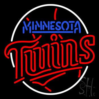 Minnesota Twins MLB Neon Sign #1: n100 3819 minnesota twins mlb neon sign