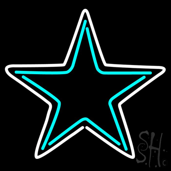 Dallas Cowboys NFL Neon Sign