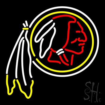 Washington Redskins NFL Neon Sign