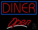 Diner Script2 Open Neon Sign