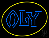 Oly Logo Beer Neon Sign