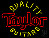 Taylor Quality Guitars Neon Sign