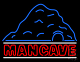Man Cave WCave Neon Sign