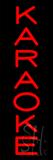 Karaoke Vertical Neon Sign