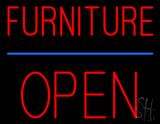 Furniture Block Open Neon Sign