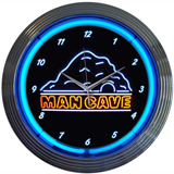 Man Cave 15 Inch Neon Clock