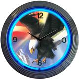 Eagle 15 Inch Neon Clock