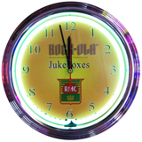 Rock-Ola Shield 15 Inch Neon Clock