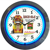 Rock-Ola Jukebox 15 Inch Neon Clock