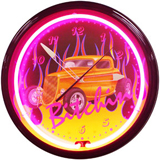 Automotive Neon Clocks