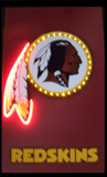 Washington Redskins Neon/Led Picture