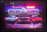 Roadside Diner Neon/Led Picture