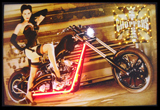 West Coast Choppers Girl Neon/Led Picture