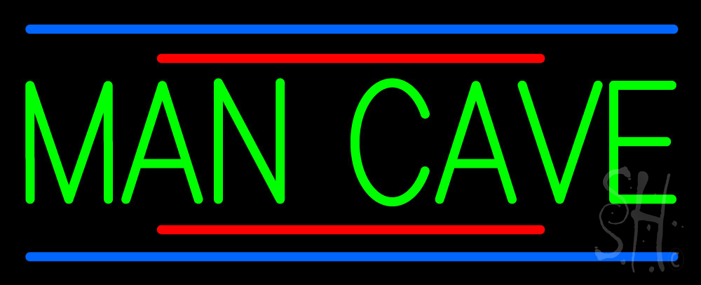 Man Cave Neon : Man cave neon sign entertainment signs every thing