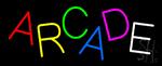 Multicolored Arcade Neon Sign