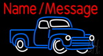 Custom Car 1 Neon Sign