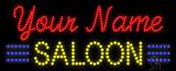 Custom Yellow Saloon Led Sign