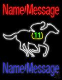 Custom Horse Race Led Sign