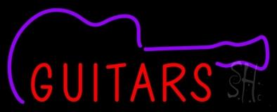 Guitars Neon Sign