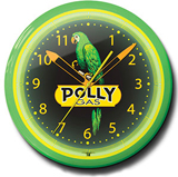 Polly Gas 20 Inch Neon Clock