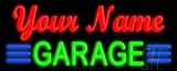 Custom Green Garage Neon Sign