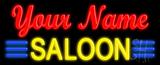 Custom Saloon Neon Sign