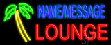 Custom Palm Tree Lounge Neon Sign