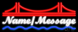 Custom Bridge Neon Sign