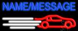 Custom Race Car Neon Sign