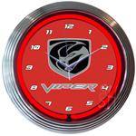 Viper 15 Inch Neon Clock